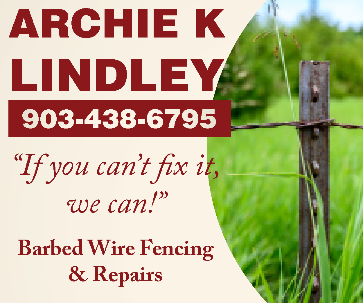 Archie Lindley Fencing