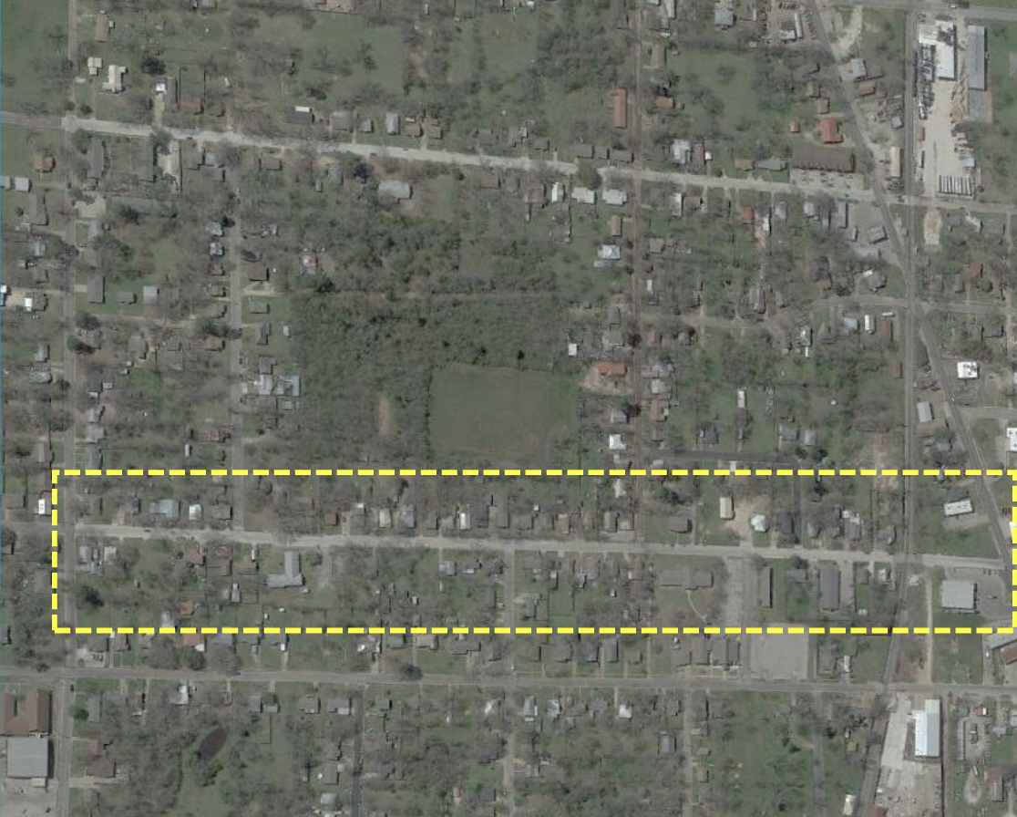 Connally Street overview/ Courtesy City of Sulphur Springs