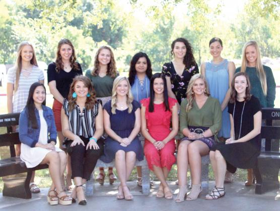 The Sulphur Springs High School Homecoming Court for 2019 are (from left, bottom row) Ana Diosdado, Sable Erdmier, Shelby Aulsbrook, Hannah Morrill, Heather Bowen, Ashlyn Bimmerle, (top row) Peyton Miesse, Kaylee Malone, Aley Owens, Hatie Tellez, Lasca Lobin, Jasmine Clayton and Brynna Irving. Staff photo by Tammy Vinson