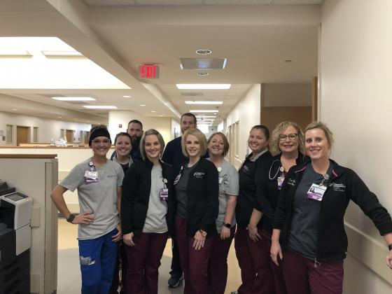 Nurses in the day shift at CHRISTUS Mother Frances Hospital-Sulphur Springs celebrate Emergency Nurses Week through Saturday, Oct. 12. Courtesy/CHRISTUS Mother Frances Hospital-Sulphur Springs