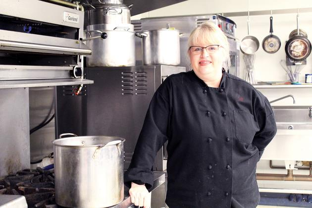 Sulphur Springs High School Culinary Arts teacher Pam Carter was recently named Teacher of the Year by the Hospitality Educators Association of Texas. The former chef has taught culinary classes for the past three years and loves to watch her students succeed, in or out of the kitchen. Staff photo by Tammy Vinson