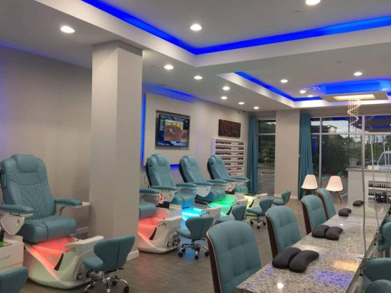 Nail Luxe has an existing salon in Rockwall that offers the same amenities that Sulphur Springs can expect at their new location at the corner of Main and Davis streets. Courtesy/Nail Luxe