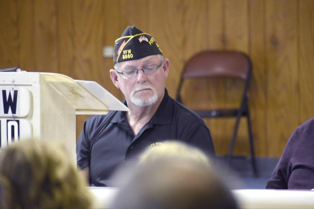Current VFW Post 8560 Commander Rusty Nail says Vietnam War veterans have done more than anyone else. File photo by Jillian Smith