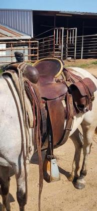 Saddle like that stolen in Mt. Pleasant/ Courtesy HCSO
