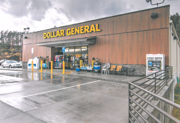 Pictures is an example of a Dollar General store that the proposed building in Cumby would resemble. Courtesy/Vaquero Ventures LLC