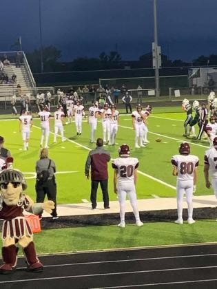 Cumby football played Sept. 10 in Rio Vista/ Courtesy Crystal Butler