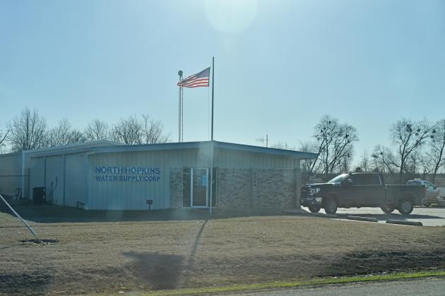The North Hopkins WSC is located on Highway 19 just south of the FM 71 intersection.