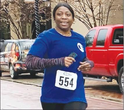 Runner Keisha Stephen finished the race with a time of 26:35. Staff photo by Taylor Nye