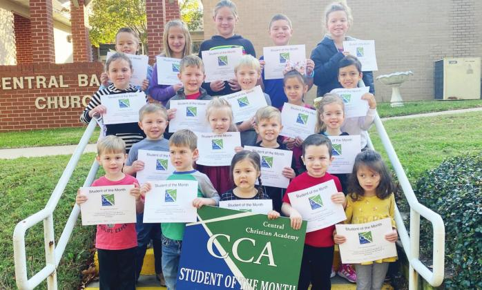 CCA celebrates students of the month